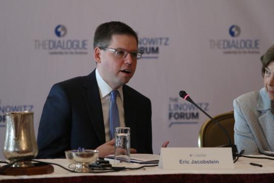 Eric Jacobstein speaking